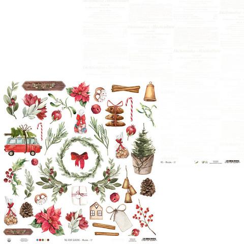 P13 skräppipaperi The Four Seasons, Winter, 07