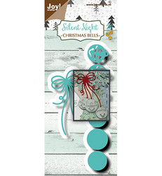 Joy! crafts Silent Night, Christmas Bells -stanssisetti