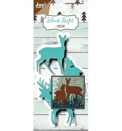 Joy! crafts Silent Night, Deer -stanssisetti