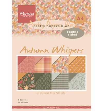 Marianne Design Autumn Whispers -paperikko, A4