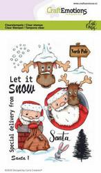 CraftEmotions leimasinsetti Santa
