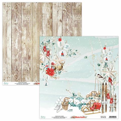 Mintay skräppipaperi Winterland 03