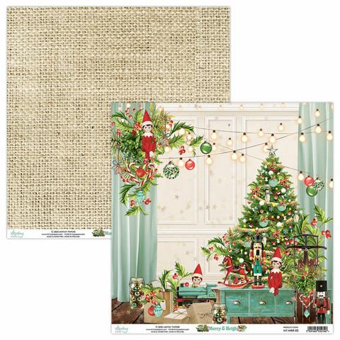 Mintay skräppipaperi Merry & Bright 03