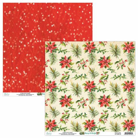 Mintay skräppipaperi Merry & Bright 05