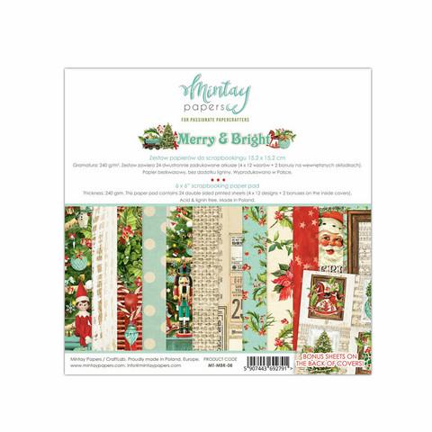 Mintay paperipakkaus Merry & Bright