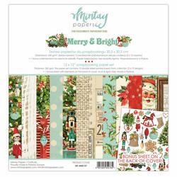 Mintay paperipakkaus Merry & Bright, 12