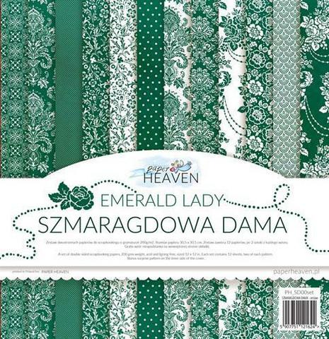 Paper Heaven paperipakkaus Emerald Lady, 12