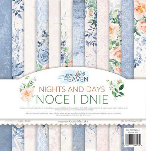 Paper Heaven paperipakkaus Nights And Days, 12