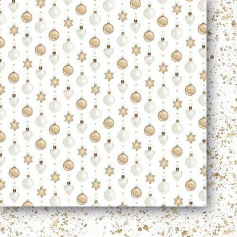 Paper Heaven skräppipaperi White As Snow 03
