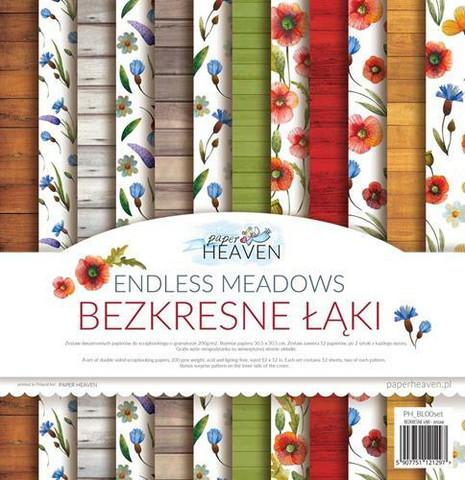 Paper Heaven paperipakkaus Endless Meadows, 12