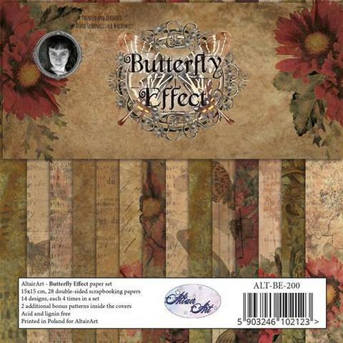 Altair Art paperipakkaus Butterfly Effect