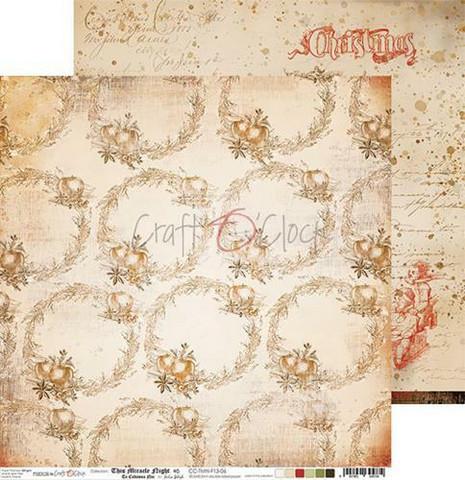 Craft O'clock skräppipaperi This Miracle Night 06