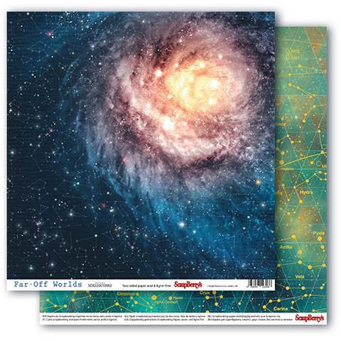 Scrapberry skräppipaperi Far-Off Worlds, Galaxy