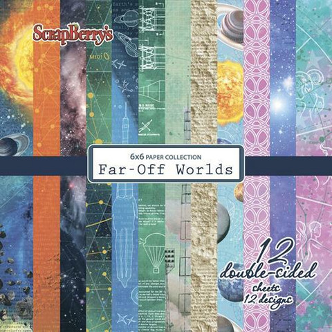 Scrapberry paperipakkaus Far-Off Worlds