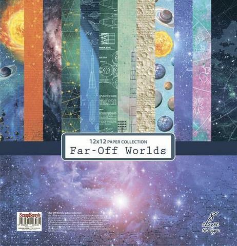 Scrapberry paperipakkaus Far-Off Worlds, 12