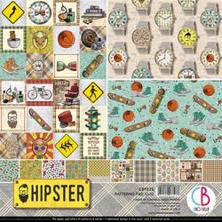 Ciao Bella Patterns Pad paperipakkaus Hipster 12