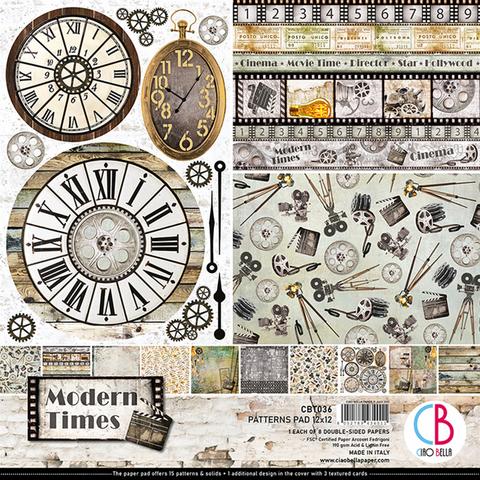 Ciao Bella Patterns Pad paperipakkaus Modern Times 12