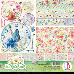 Ciao Bella Patterns Pad paperipakkaus Microcosmos 12