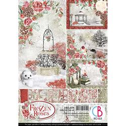 Ciao Bella Creative Pad paperipakkaus Frozen Roses