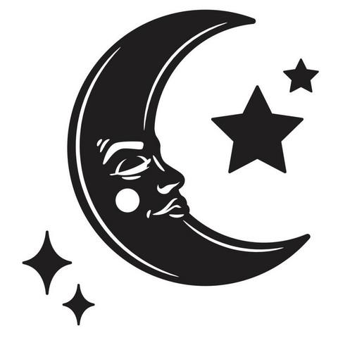 Darice kohokuviointikansio Moon & Stars