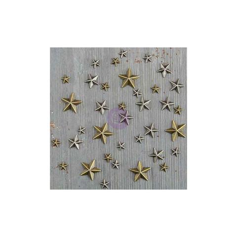 Finnabair Mechanicals -metallikoristeet Mini Stars