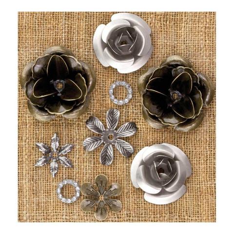 Finnabair Mechanicals -metallikoristeet Roses