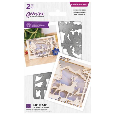 Gemini Create-A-Card  stanssisetti Nordic Reindeer