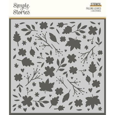 Simple Stories sapluuna Falling Leaves