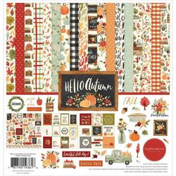 Carta Bella Hello Autumn -paperipakkaus, 12