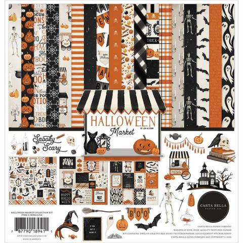 Carta Bella Halloween Market -paperipakkaus, 12