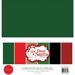 Carta Bella Dear Santa, Solids -paperipakkaus, 12