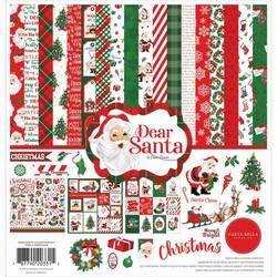 Carta Bella Dear Santa -paperipakkaus, 12