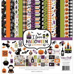Echo Park I Love Halloween -paperipakkaus, 12