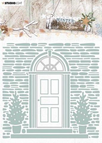 Studio Light leikkaava kohokuviointikansio Winter Charm 07