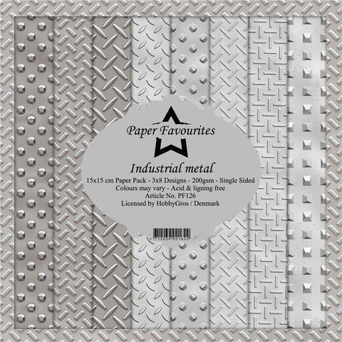 Paper Favourites Industrial Metal -paperipakkaus