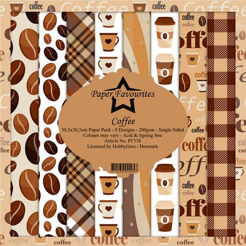 Paper Favourites Coffee -paperipakkaus, 12