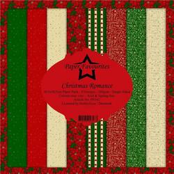 Paper Favourites Christmas Romance -paperipakkaus, 12