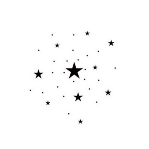 Lavinia Stamps leimasin Mini Stars