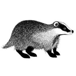Lavinia Stamps leimasin Badger