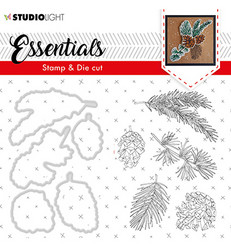 Studio Light stanssi- ja leimasinsetti Essentials 49