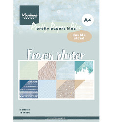 Marianne Design Frozen Winter -paperikko, A4