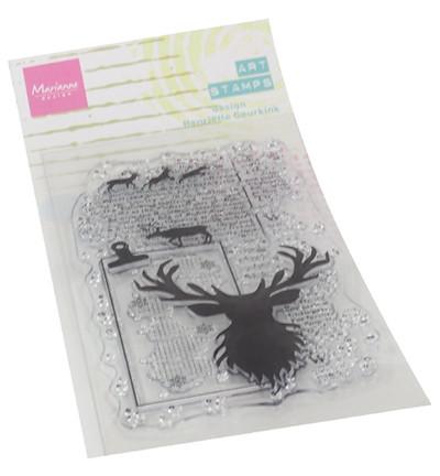 Marianne Design Art Stamps, Deer -leimasin