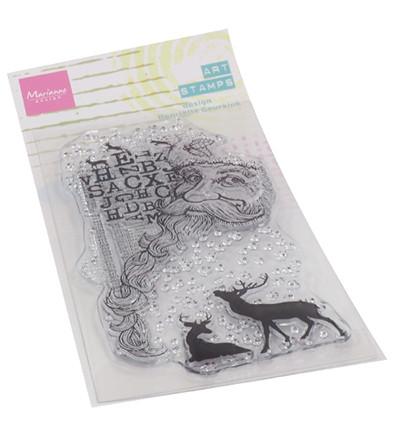 Marianne Design Art Stamps, Santa -leimasin