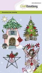 CraftEmotions leimasinsetti Fairy House