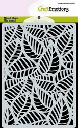 CraftEmotions sapluuna Skeleton Leaves, A6