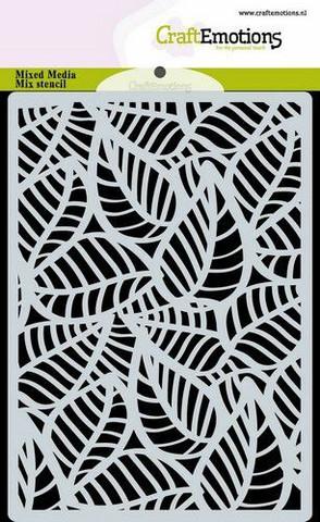 CraftEmotions sapluuna Skeleton Leaves, A6