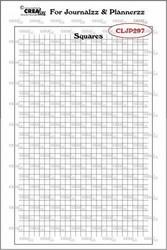 Crealies Journalzz & Plannerzz -leimasinsetti Journaling Squares