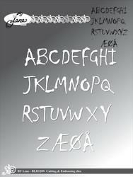 By Lene stanssisetti Alphabet Uppercase