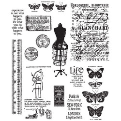 Stampers Anonymous, Tim Holtz leimasinsetti Attic Treasures