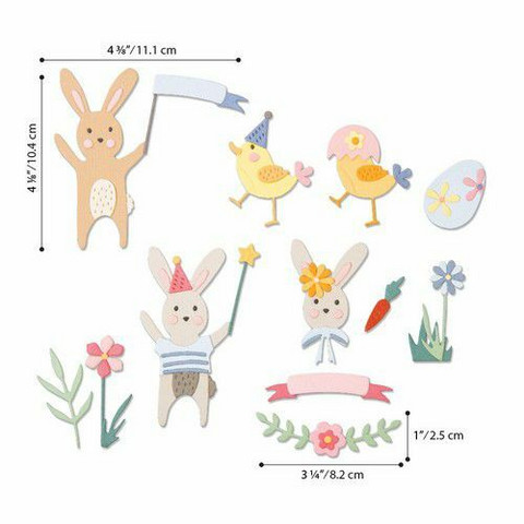 Sizzix Thinlits stanssisetti Easter Celebration